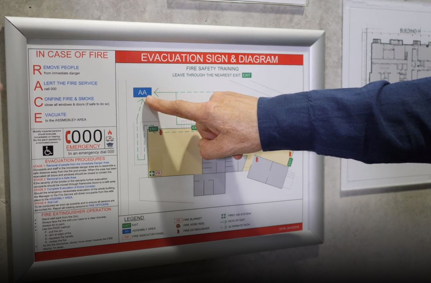 EvacDiagrams